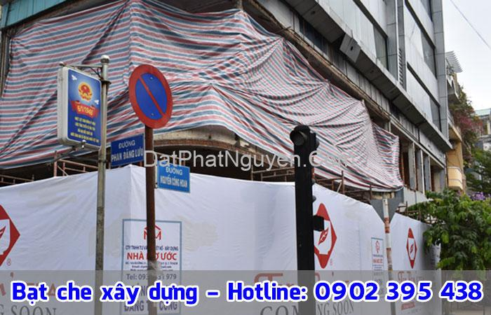 bạt che xây dựng